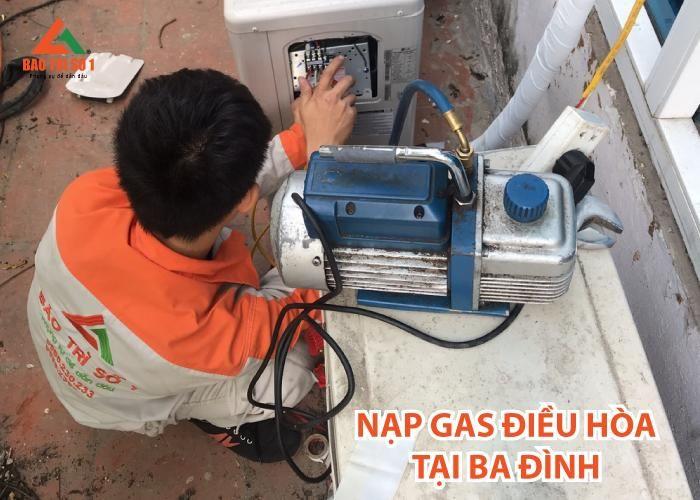 Nạp gas điều hòa tại khu vực quận Ba Đình hoàn toàn hiệu quả, chính hãng