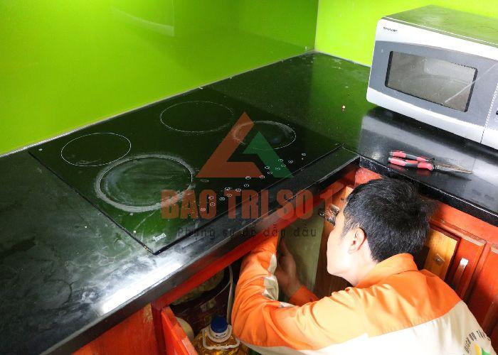 Quy trình sửa chữa bếp từ an toàn, chuyên nghiệp
