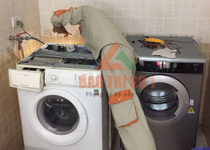 Sửa máy giặt ngay tại nhà 12 quận nội thành Hà Nội