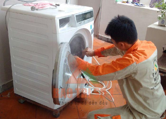 Dịch vụ sửa chữa máy giặt tại Đội Cấn