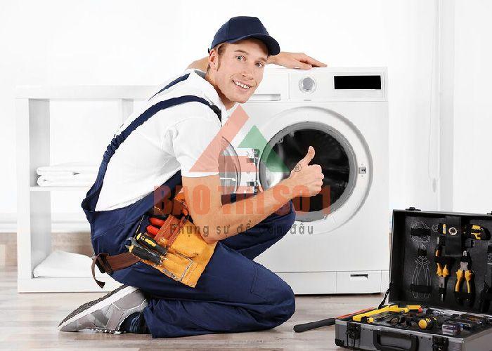 Sửa máy giặt Hoàng Hoa Tham nhanh chóng
