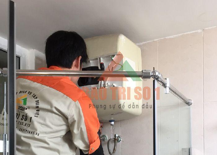 Thợ sửa bình nóng lạnh tay nghề cao tại Hà Đông
