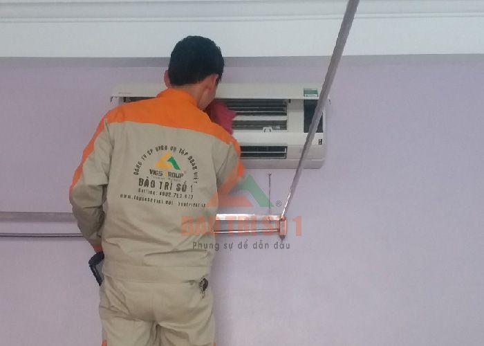 <Center>Thợ sửa điều hoà Fujitsu mùi hôi tại nhà uy tín</Center>