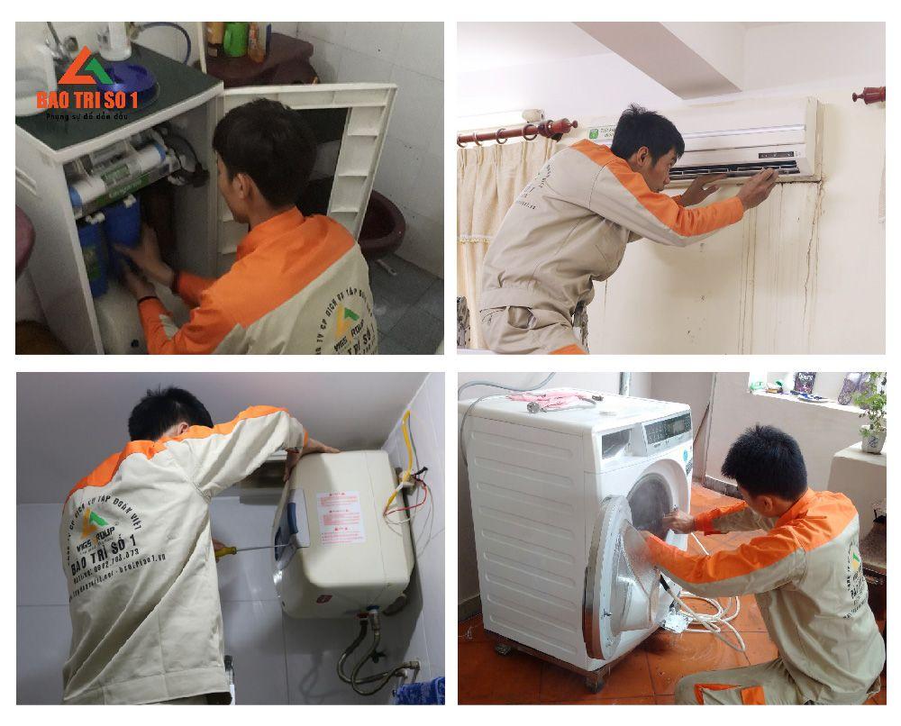 Sửa chữa thiết bị gia đình uy tín - Bảo Trì Số 1