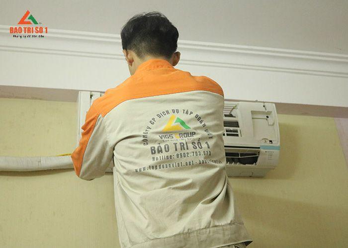 KTV Bảo trì số 1 hỗ trợ sửa điều hòa LG tại nhà khách hàng