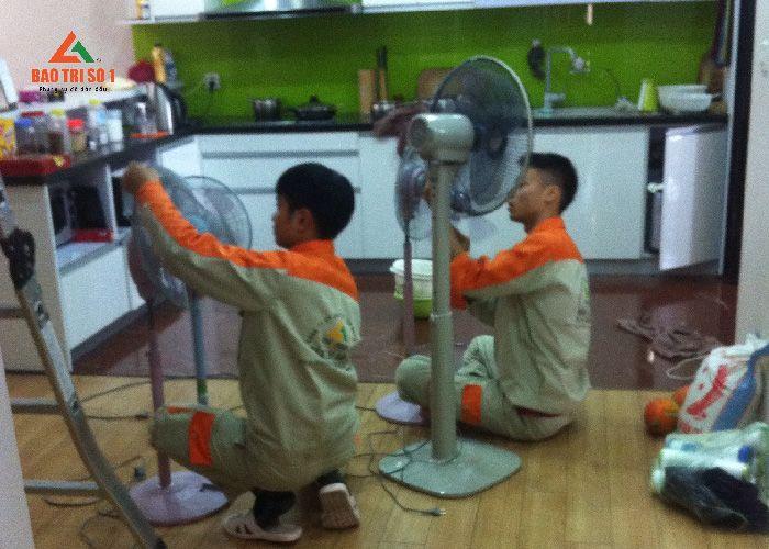 Dịch vụ sửa quạt điện tại nhà uy tín giá rẻ tại Hà Nội 2019