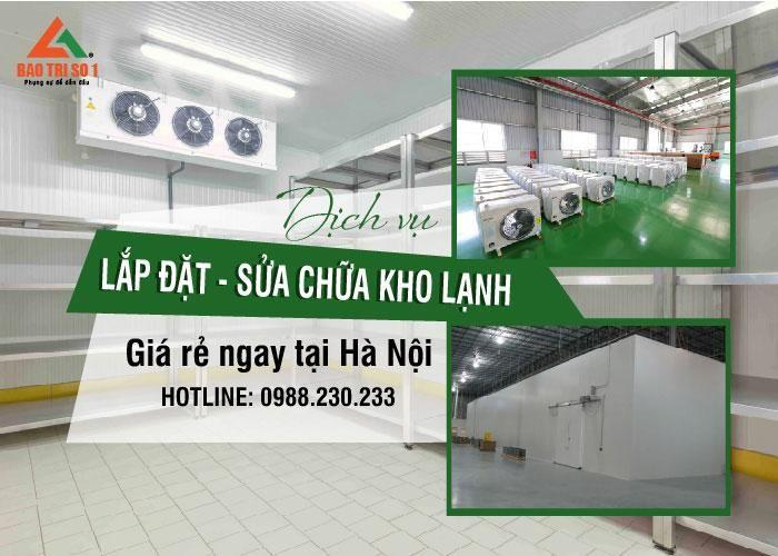 Cung cấp dịch vụ sửa chữa kho lạnh tại Hà Nội