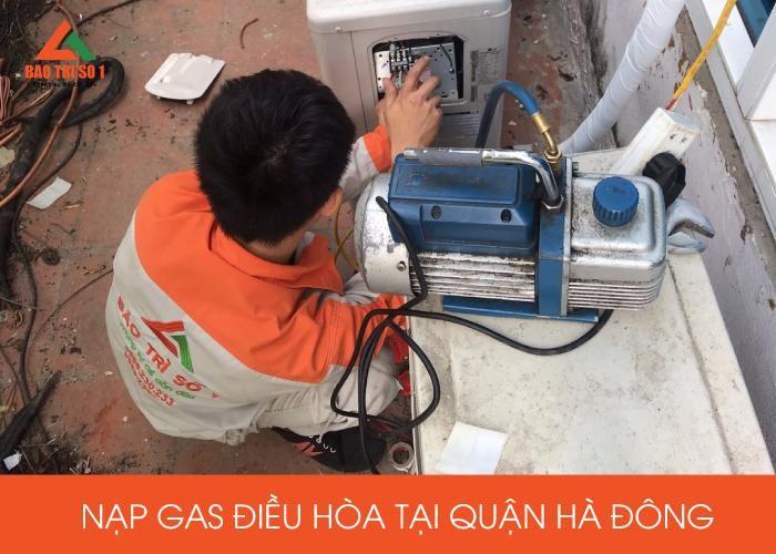 Nạp Gas điều hòa tại quận Hà Đông chính hãng, uy tín