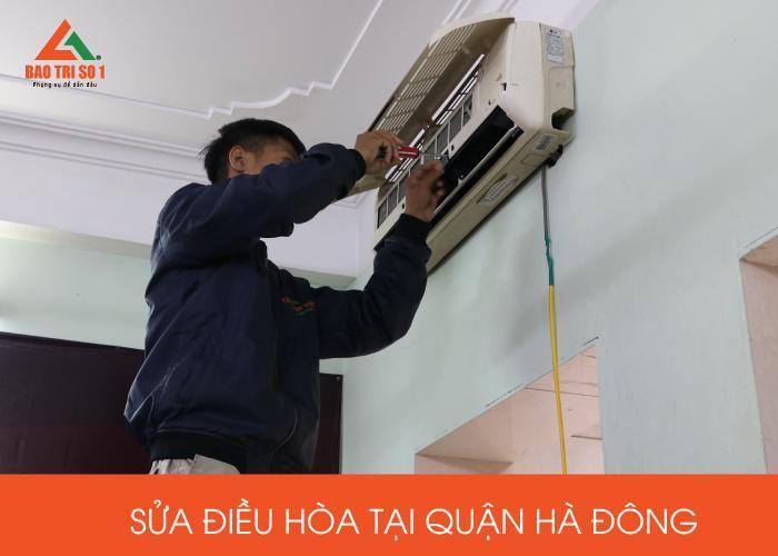 Sửa điều hòa tại quận Hà Đông xử lý lỗi từ đơn giản đến khó
