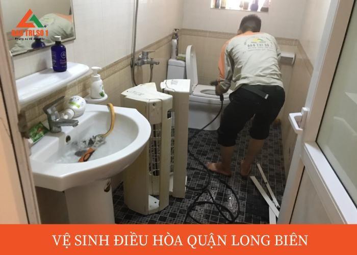 Vệ sinh - bảo dưỡng điều hòa tại quận Long Biên đảm bảo uy tín