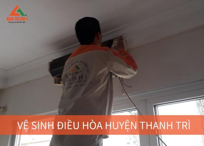 <Centre>Vệ sinh điều hòa huyện Thanh Trì chuyên nghiệp, nhanh chóng</center>